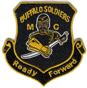 Buffalo Soldier MC Crest