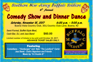 BSMC Southern New Jersey Comedy Show & Dinner Dance @ Buena Vista Country Club | Buena | New Jersey | United States