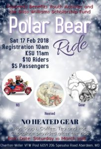 BSMC Aberdeen Chapter Polar Bear Ride @ Charlton-Miller VFW Post 6054 | Aberdeen | Maryland | United States