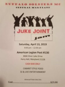 BSMCCMD Juke Joint Jam @ American Legion Post #130 | Perry Hall | Maryland | United States